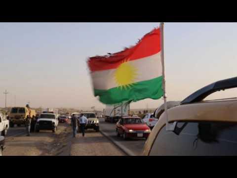 Irak: civils, peshmergas fuient les quartiers kurdes de Kirkouk