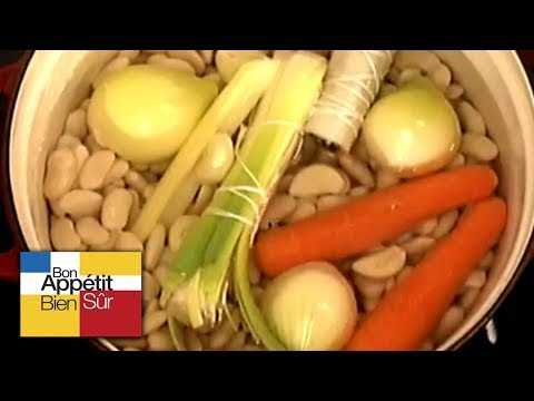 [Recette] Soupe de Haricots aux Coquillages - Chef Alain Dutournier