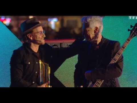 NMA - U2 : leur touchante déclaration d'amour à la France (vidéo)