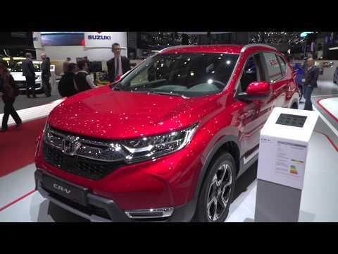 Geneva 2018 Car Premieres – Honda CR-V