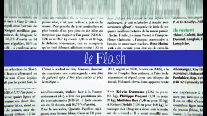 Le Flash du 15 juillet