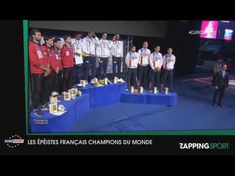 Zap Sport 26 juillet : Les épéistes français champions du monde