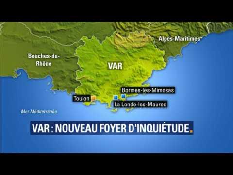 """Nouveau foyer à Bormes-les-Mimosas: """"10.000 personnes ont été évacuées"""", dit la sous-préfète du Var"""