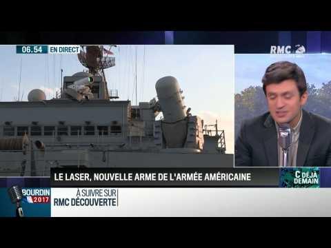 La chronique de Pierre Gallaccio: Le laser, nouvelle arme de l'armée américaine - 26/07