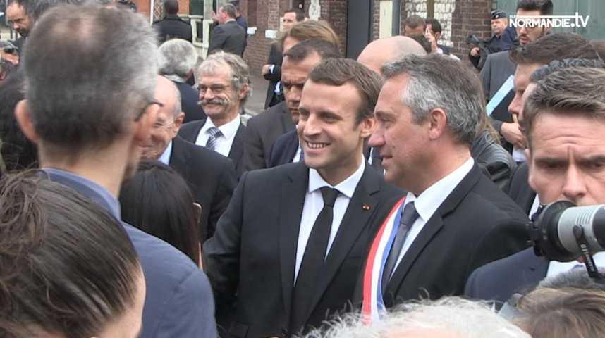 Les Stéphanais et le Président rendent hommage au père Hamel