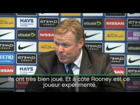 2e j. - Koeman congratule Rooney, auteur de son 200e but