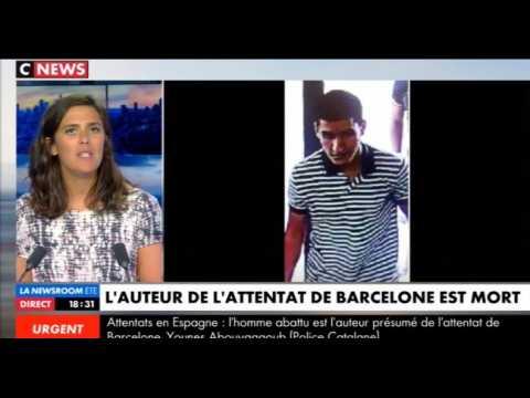 Attentats en Catalogne : Le terroriste de l'attaque de Barcelone a été abattu (Vidéo)