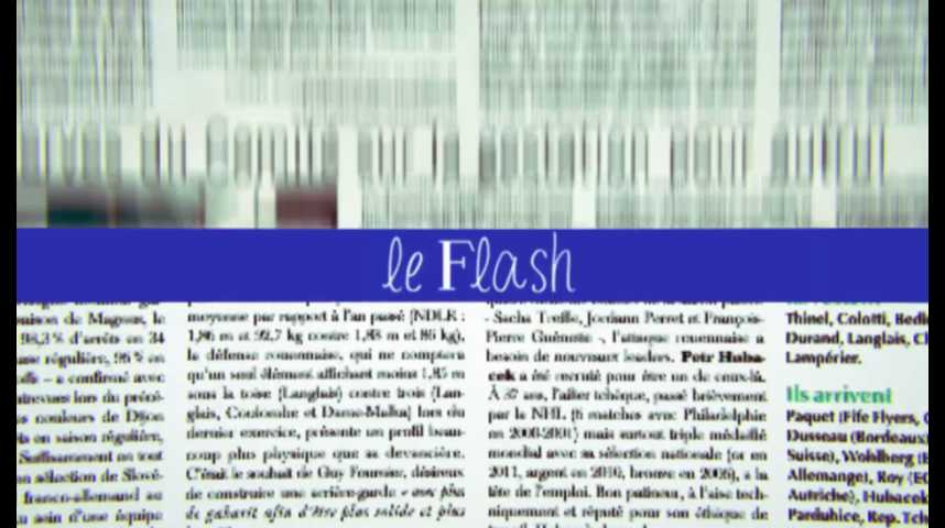 Le Flash du 22 août