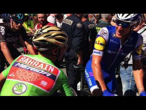 """La Vuelta 2017 - Matteo Trentin : """"Je me sens très fort sur les sprints sur cette Vuelta"""""""