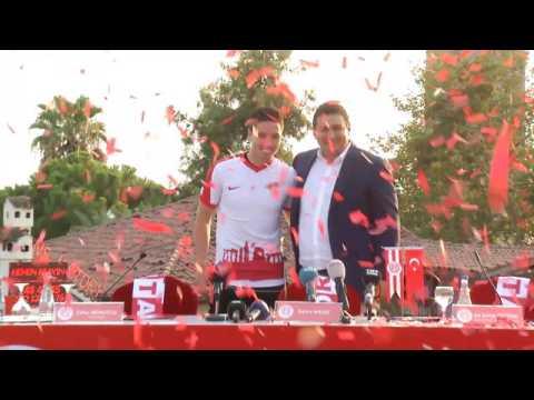 Antalyaspor - Nasri accueilli comme un roi