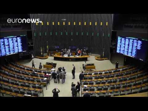 Brazil's Temer faces crucial vote in Congress