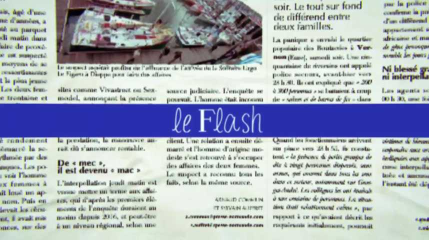 Le Flash du 18 juillet