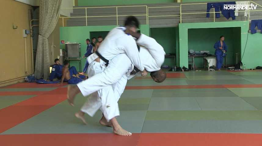 Teddy Riner en Normandie !