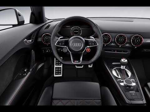 2018 Audi TT RS Interior Design
