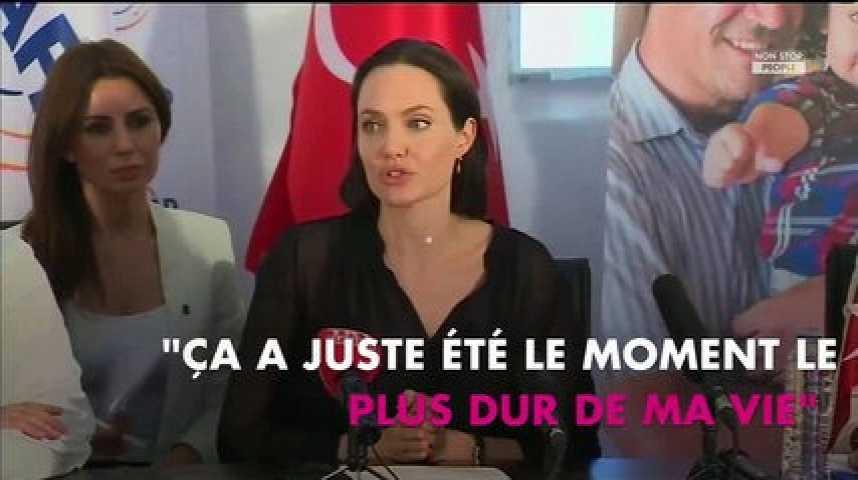 Angelina Jolie évoque son divorce avec Brad Pitt après des mois de silence