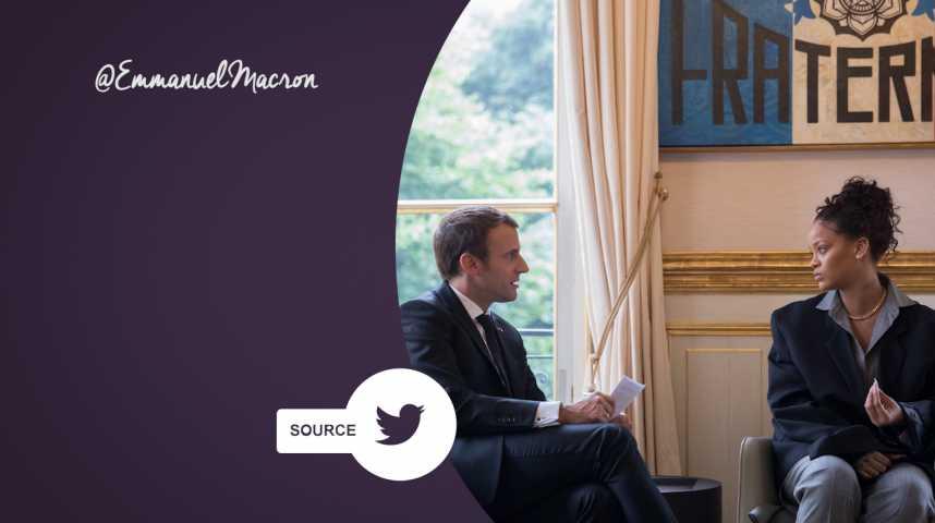 Rihanna a rencontré le Président !