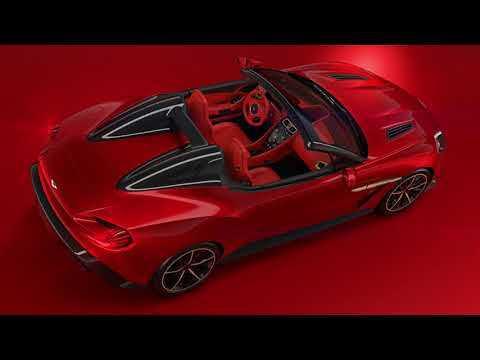 Aston Martin Vanquish Zagato Speedster First Video