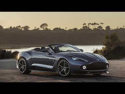Aston Martin Vanquish Zagato Volante First Video