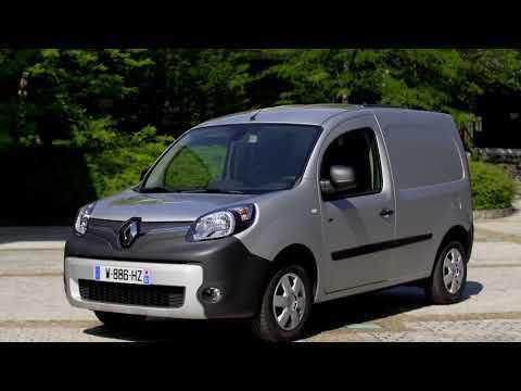 New Renault Kangoo Van Z.E.33 Exterior Design