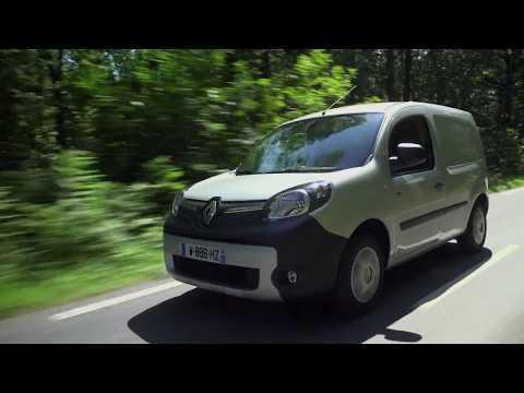 New Renault Kangoo Van Z E 33 Driving Video