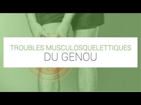 Troubles musculosquelettiques du genou