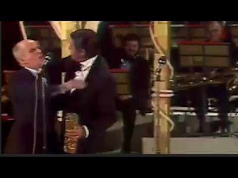 Ce jour où Jerry Lewis a embrassé Louis de Funès aux César