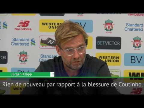 Transferts - Klopp : ''Rien n'a change pour Coutinho''
