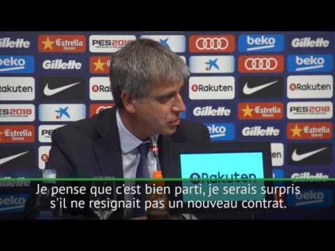 Transferts - Le Barça s'active pour la prolongation de Messi