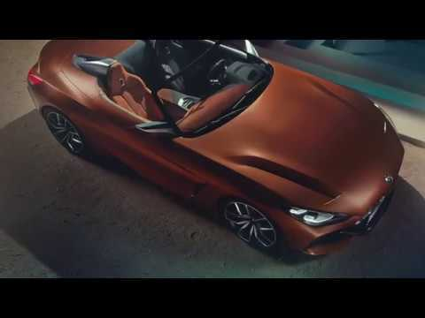 World Premiere of the BMW Concept Z4 Roadster