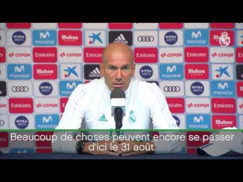"""Real Madrid - Zidane: """"Tout est possible pour Mbappé"""""""