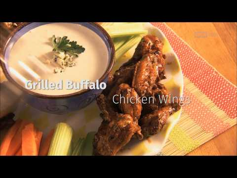 Food Recipes: Grilled Buffalo Chicken Wings
