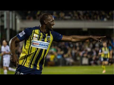 Usain Bolt, Aspiring Soccer Player, Scores Two Goals In His First Start