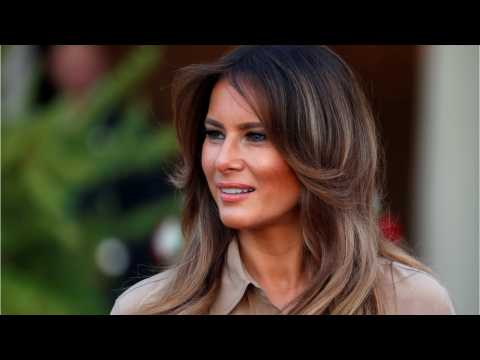 Melania Trump Says President's Alleged Affairs Are 'Not Concern And Focus Of Mine'
