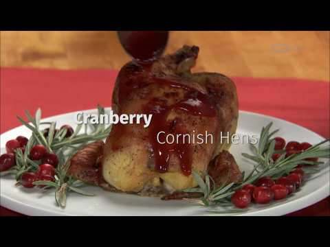 Food Recipes: Cranberry Cornish Hens