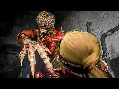 RESIDENT EVIL 2: Licker Battle Gameplay Trailer (2018) PS4 / Xbox One / PC