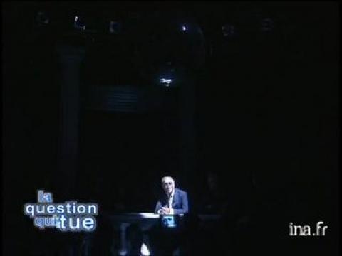 La question qui tue : Gérard Darmon