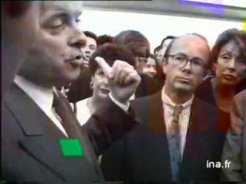 Jacques Toubon inaugure le musée d' art contemporain à Marseille