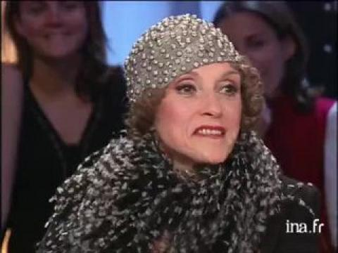 Liliane Montevecchi pour son interprétation de Mistinguett