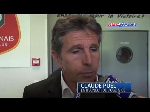 Ligue 1 / Les réactions de F. Antonetti et C. Puel après Rennes - Nice - 05/05