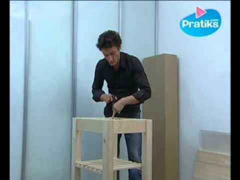 Diy fabriquer une table repasser avec des meubles ikea - Fabriquer une desserte ...