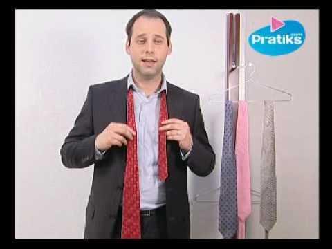 comment faire un noeud de cravate le eldredge sur orange vid os. Black Bedroom Furniture Sets. Home Design Ideas