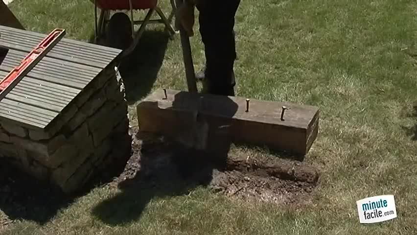 construire un escalier de jardin - minutefacile.com - Construire Un Escalier De Jardin En Bois