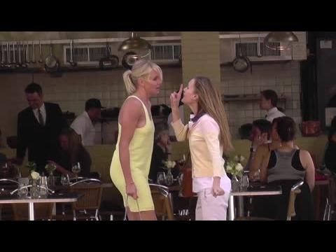 Crêpage de chignon : Cameron Diaz et Leslie Mann en viennent aux mains sur un plateau de tournage