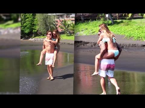 Audrina Patridge en vacances à Tahiti en bikini... avec son petit-ami