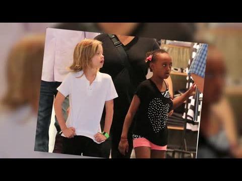 Shiloh Jolie-Pitt fait du shopping à New York