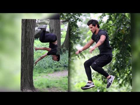 Taylor Lautner dévoile son corps sexy en tournage