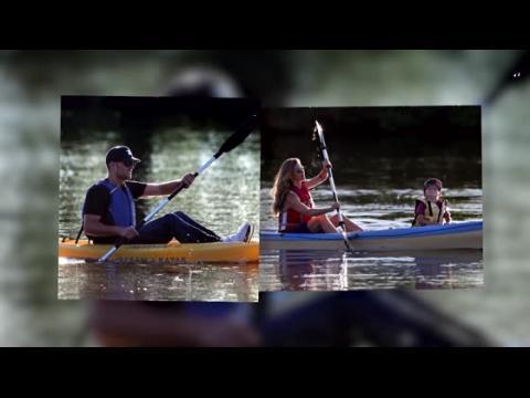 Gisele Bündchen et Tom Brady font du kayak avec leur fils Benjamin