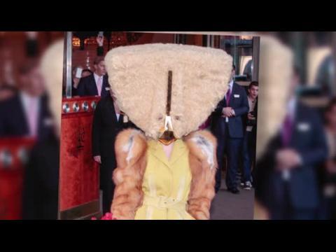 Le dernier masque extravagant de Lady Gaga