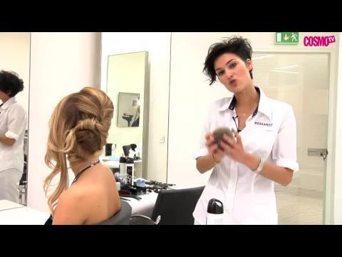 Vidéo coiffure de soirée : un chignon bohème chic