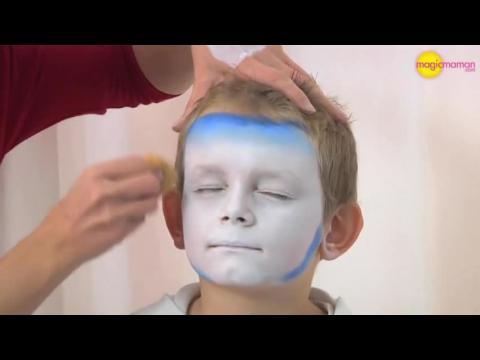 Maquillage d 39 halloween glam vampire look tutoriel maquillage sur orange vid os - Maquillage vampire enfant ...